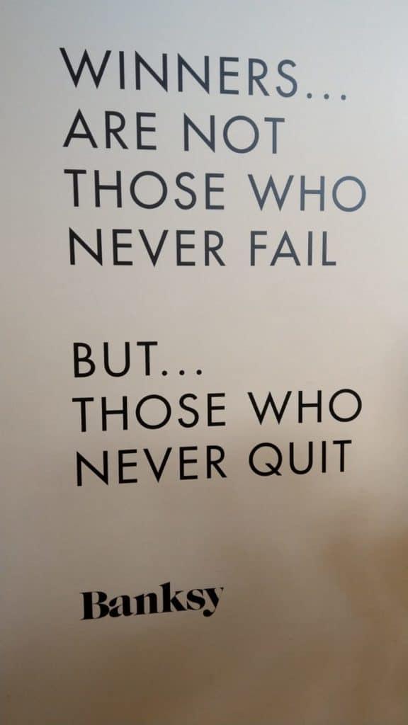 Zitat Banksy